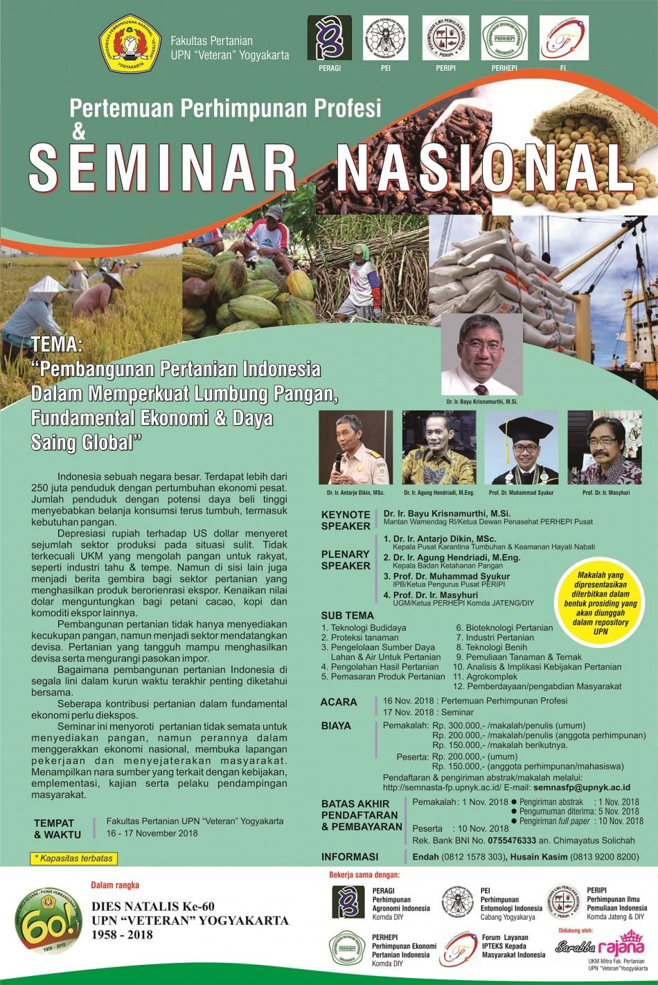 image Seminar Nasional 2018 FP UPNVY