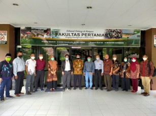 Pertemuan FP untuk Kerjasama dengan PT Bukit Asam bidang Penelitian dan Lokasi Magang Mahasiswa