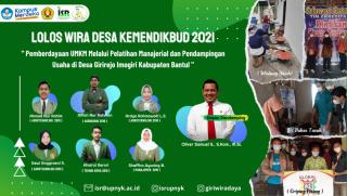 Selamat, Mahasiswa FP dan Tim nya Lolos Pendanaan Wira Desa Kemendikbudristek 2021